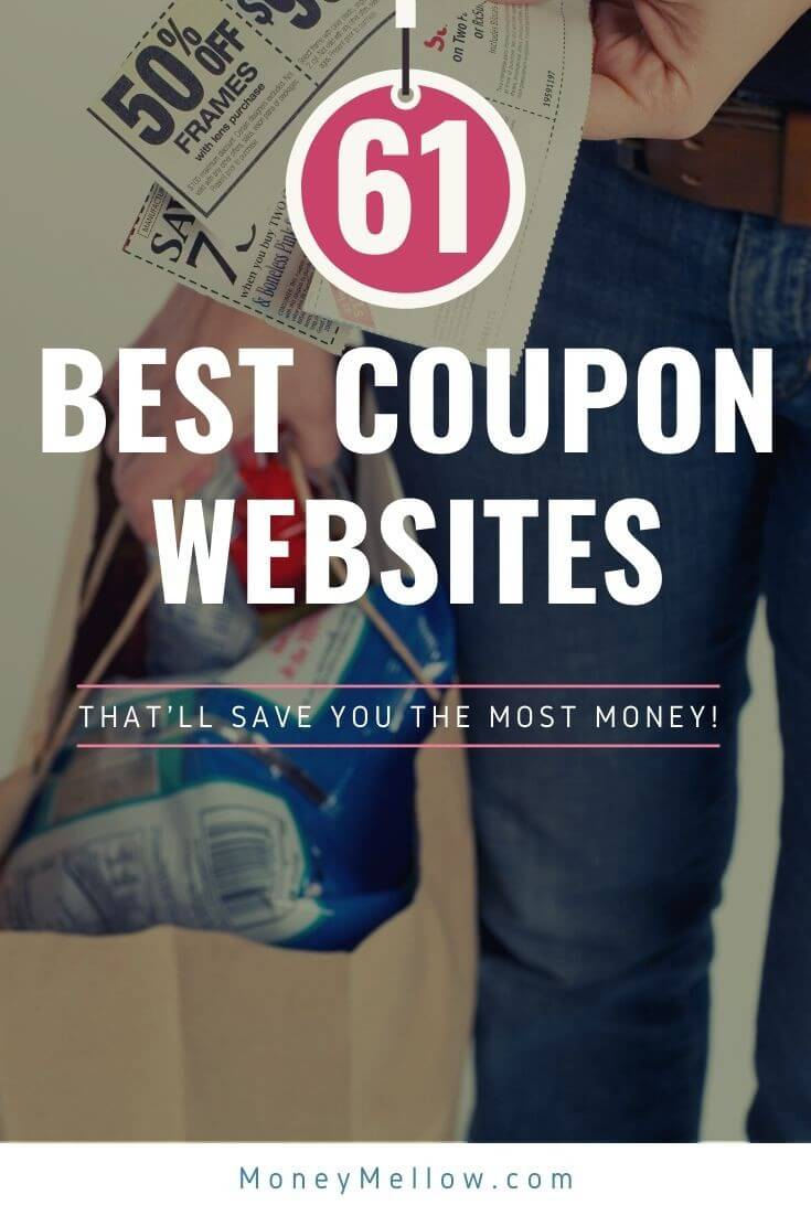 These are the best websites for finding coupons that will save you a lot of money on groceries, clothes, flights, gas and more...